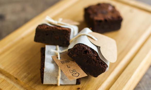 Brownie tradicional personalizado