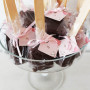 Mini Brownies no Palito